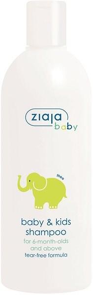 ZIAJA Baby Šampon Slon 270 ml - Dětský šampon