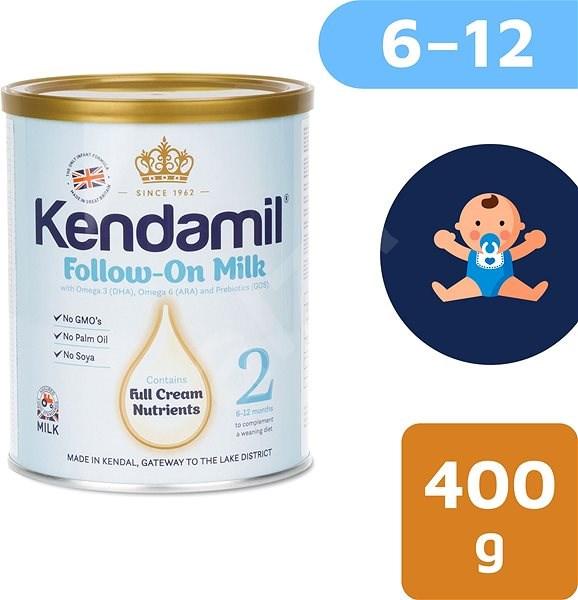 Kendamil pokračovací mléko 2, 400 g - Kojenecké mléko