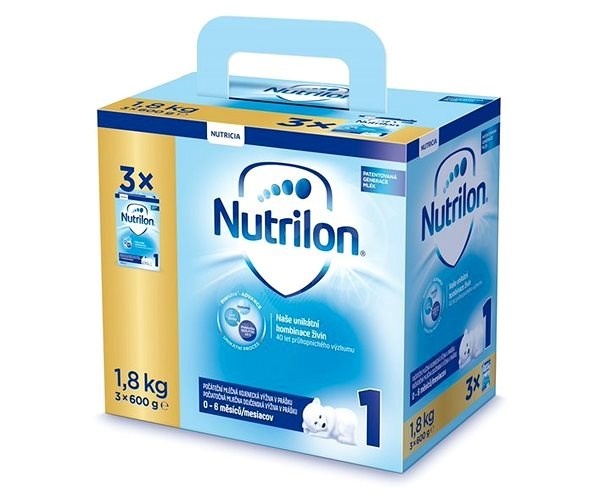2d8808e786d Nutrilon 1 Pronutra počáteční kojenecké mléko 3× 600 g - Kojenecké mléko