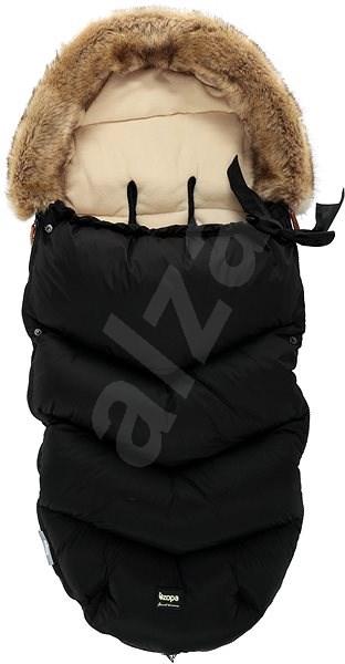 Zopa Zimní fusak Fluffy - černý - Fusak do kočárku