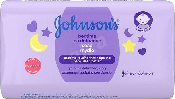 JOHNSON'S BABY Bedtime mýdlo pro dobré spaní 100 g - Dětské mýdlo