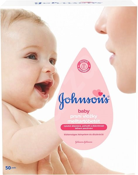 JOHNSON'S BABY breast pads 50 pcs - breast pads