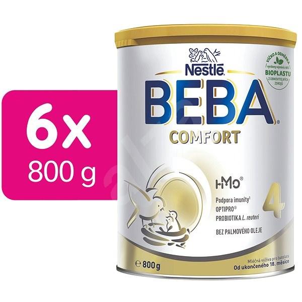 BEBA COMFORT 4 HM-O (6× 800 g) - Kojenecké mléko
