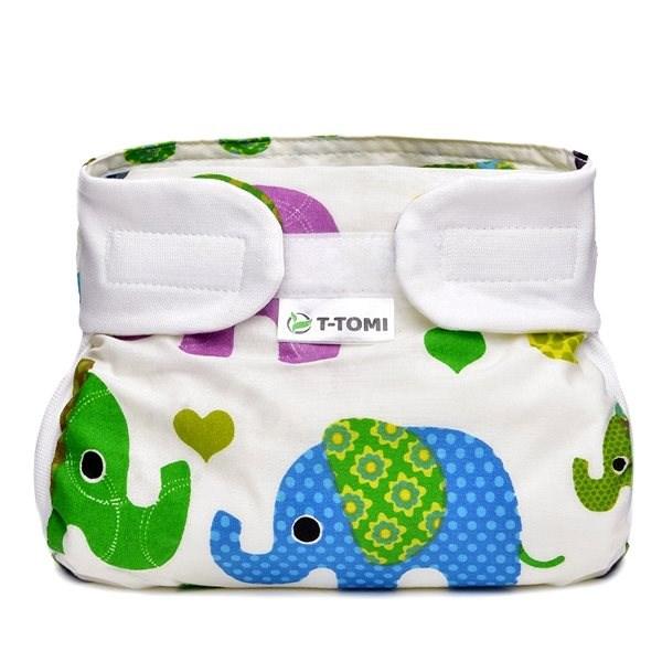 T-tomi Abdukční kalkotky, green elephants (3-6 kg)  - Abdukční kalhotky