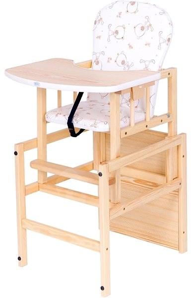 Drewex Borovicová židlička Antonín - přírodní - Jídelní židlička