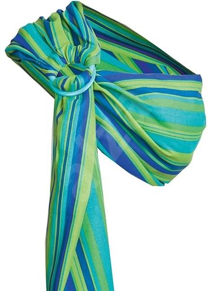 f0a4323921b Womar Šátek Hug Me - zelený - Šátek na nošení dětí
