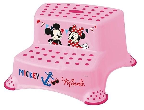 """KEEEPER Dvojstupínek """"Mickey&Minnie"""" - růžový - Stupátko"""