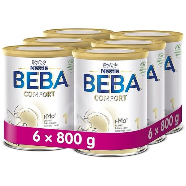 BEBA COMFORT 1 HM-O (6× 800 g) - Kojenecké mléko