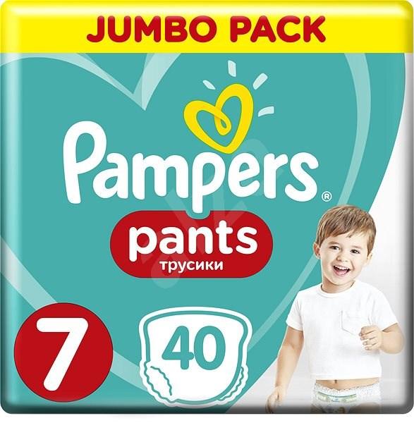 PAMPERS Pants Jumbo Pack, vel. 7 (40 ks) - Plenkové kalhotky