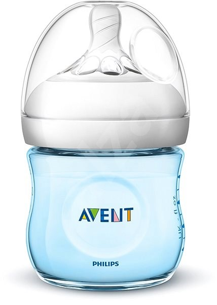 Philips AVENT Natural 125 ml - modrá  - Kojenecká láhev