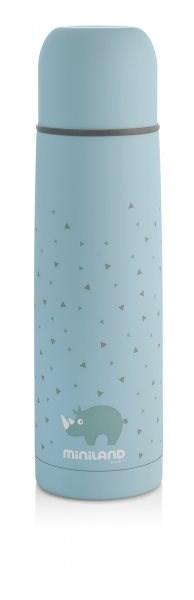MINILAND Termoska Silky 500 ml - blue - Dětská termoska