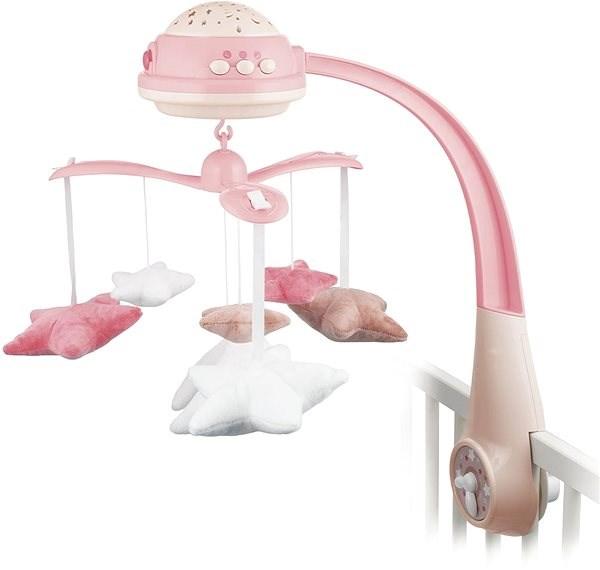 Canpol babies Kolotoč hvězdičky - růžový - Kolotoč nad postýlku
