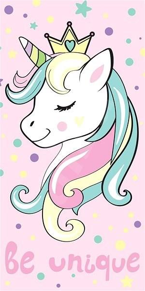 Jerry Fabrics osuška - Unicorn pink - Dětská osuška