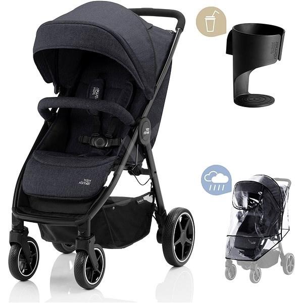 Britax Römer B-Agile M - Black - Baby Buggy