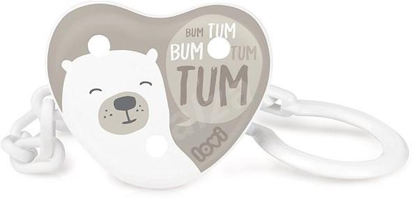 LOVI Buddy Bear - Klip na dudlík