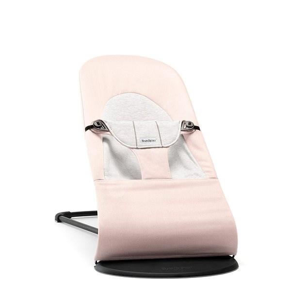 Babybjörn Balance Soft Pink/Grey - Dětské lehátko