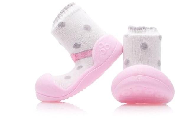 ATTIPAS Ballet Pink vel. S - Dětské boty