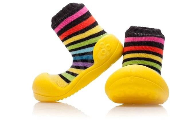 ATTIPAS RainBow Yellow vel. M - Dětské boty