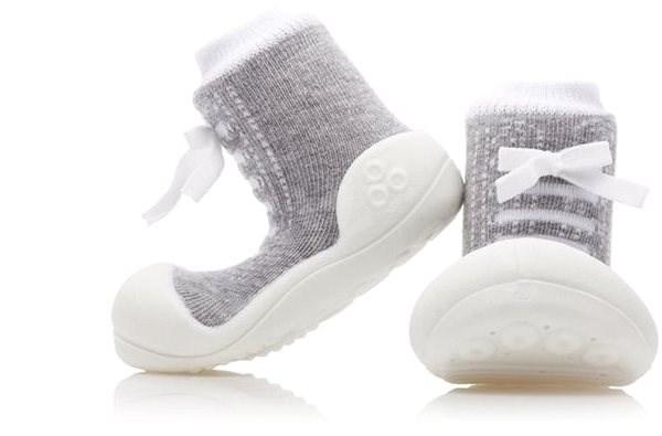 ATTIPAS Sneakers Gray vel. S - Dětské boty