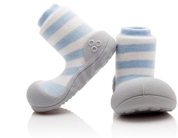 ATTIPAS Natural Herb Blue vel. S - Dětské boty