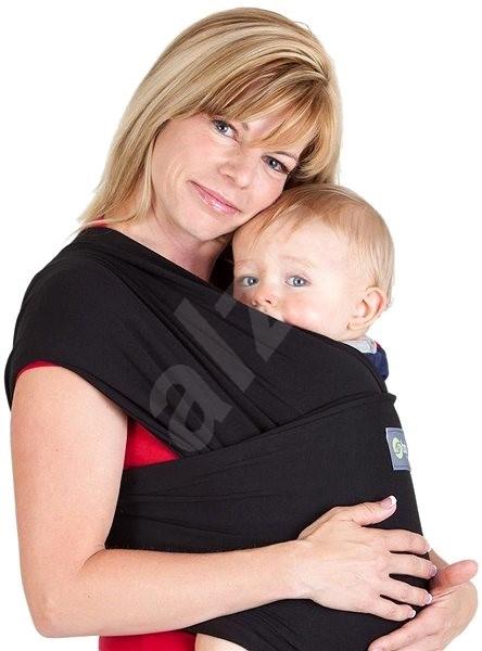 9db1c6edb6f Boba Wrap - Black - Šátek na nošení dětí