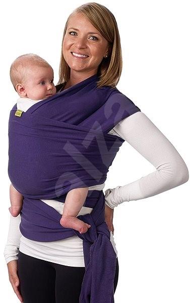 7756963fe73 Boba Wrap - Purple - Šátek na nošení dětí