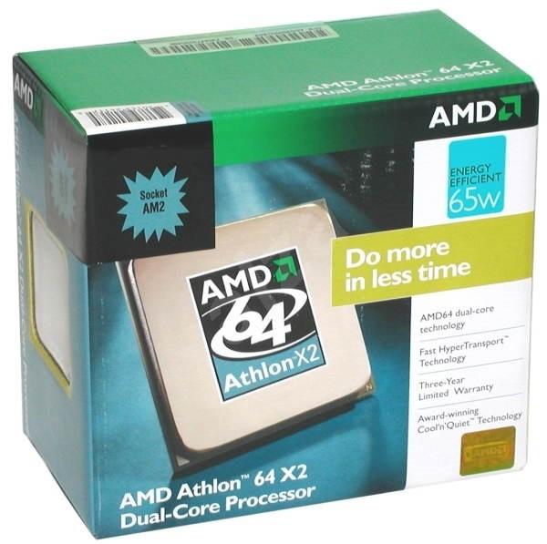AMD Dual-Core Athlon A64 X2 4200+ EE (65W) 64-bit Windsor BOX socket AM2 - Procesor