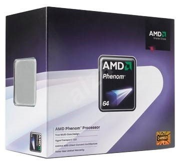 AMD Phenom 9150e X4 Quad-Core (65W), 1800MHz, BOX, socket AM2+ (Agena) - Procesor