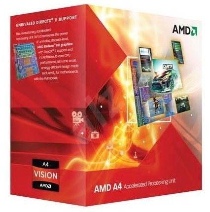 AMD A4 X2 3400 - Procesor