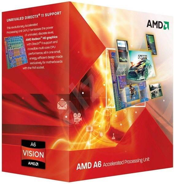 AMD A6 X4 3650 - Procesor