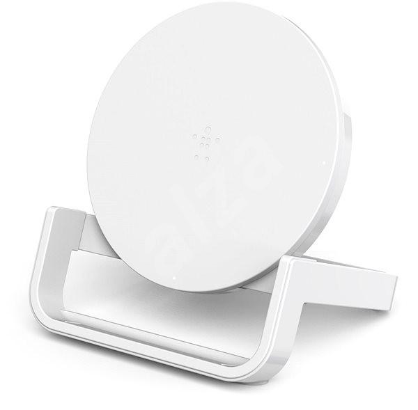 Belkin Boost Up Bold Qi Wireless Charging Stand White - Bezdrátová nabíječka