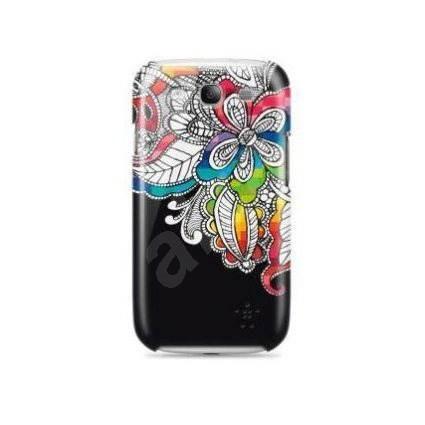 Belkin Shield Flora černé se vzorem - Pouzdro na mobilní telefon