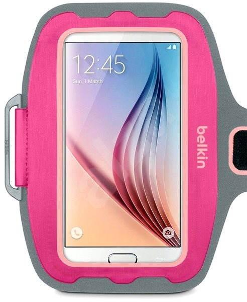 Belkin Sport-fit Plus Armband růžové - Pouzdro na mobilní telefon