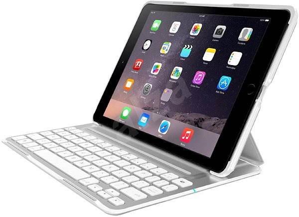 Belkin QODE Ultimate Pro Keyboard Case pro iPad Air2 - bílá - Klávesnice