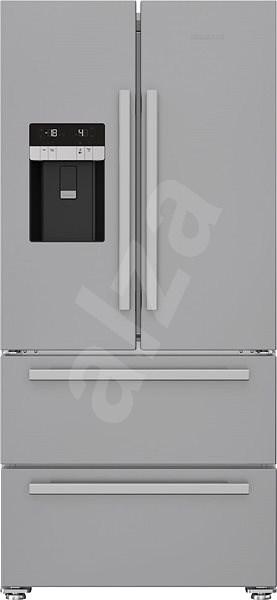 GRUNDIG GQN 1232 X - Americká lednice