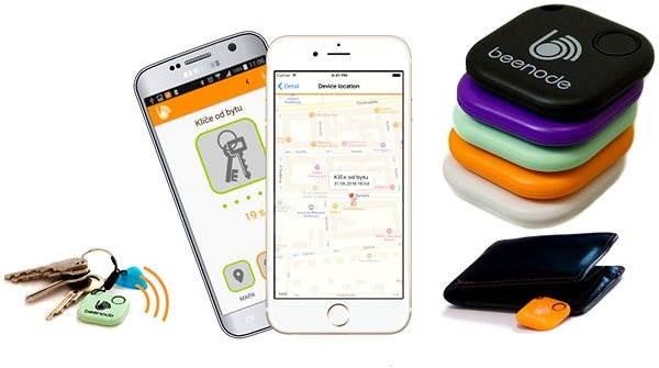 Beenode V mix - Bluetooth lokalizační čip  9459213122d