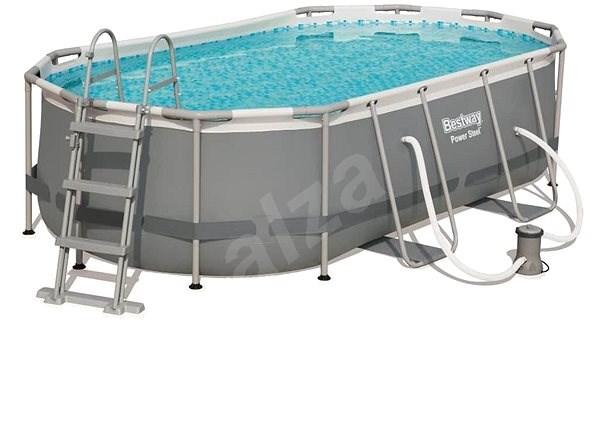 BESTWAY Oval Pool Set 4.27m x 2.50m x 1.00m - Bazén