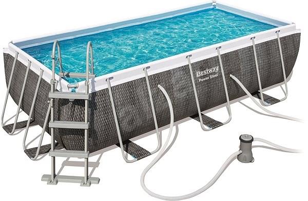 BESTWAY Rectangular Pool Set 4.04m x 2.01m x 1.00m - Bazén