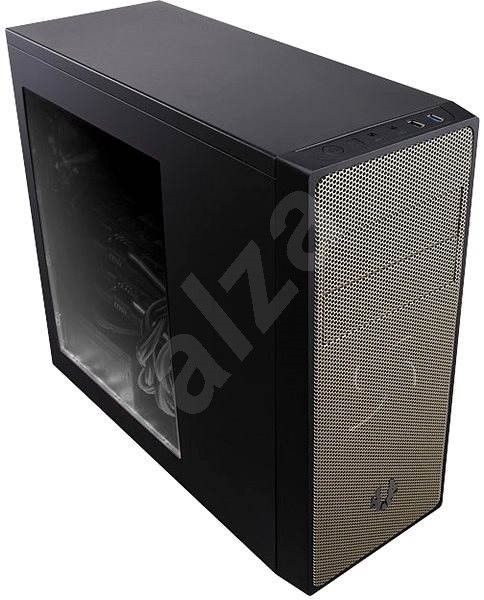 BITFENIX Neos černá/zlatá s průhlednou bočnicí - Počítačová skříň