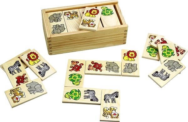 Dřevěné domino - Safari - Domino