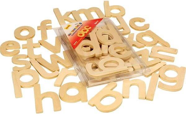 Dřevěné hračky - Psací abeceda - Didaktická hračka  ccd5ba84da