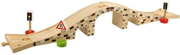 Dřevěná autodráha - Dřevěný most pro auta - Příslušenství k autodráze
