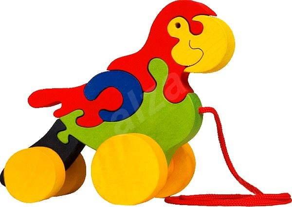 28b374f96 Dřevěná tahací hračka - Papoušek - Tahací hračka | Alza.cz