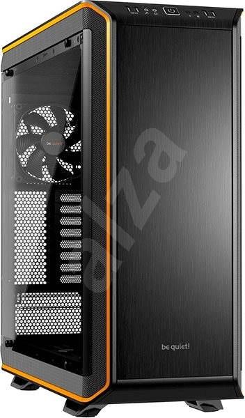 Be quiet! DARK BASE PRO 900 průhledná bočnice / oranžová - Počítačová skříň
