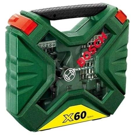 BOSCH 60PC X-LINE IIW - Sada vrtáků