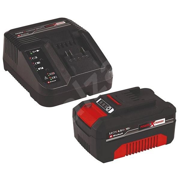 Einhell Starter-Kit Power-X-Change 18 V/4,0 Ah Accessory - Nabíječka a náhradní baterie