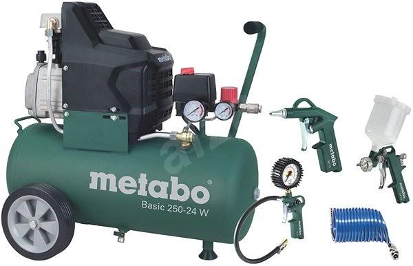Metabo Basic250-24W+LPZ4Set - Kompresor