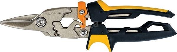 Fiskars PowerGear nůžky na plech rovné - Nůžky