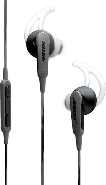 BOSE SoundSport In-Ear charcoal black - Sluchátka