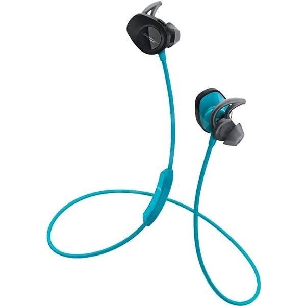 BOSE SoundSport wireless Aqua - Bezdrátová sluchátka